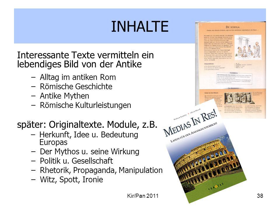 INHALTE Interessante Texte vermitteln ein lebendiges Bild von der Antike. Alltag im antiken Rom. Römische Geschichte.