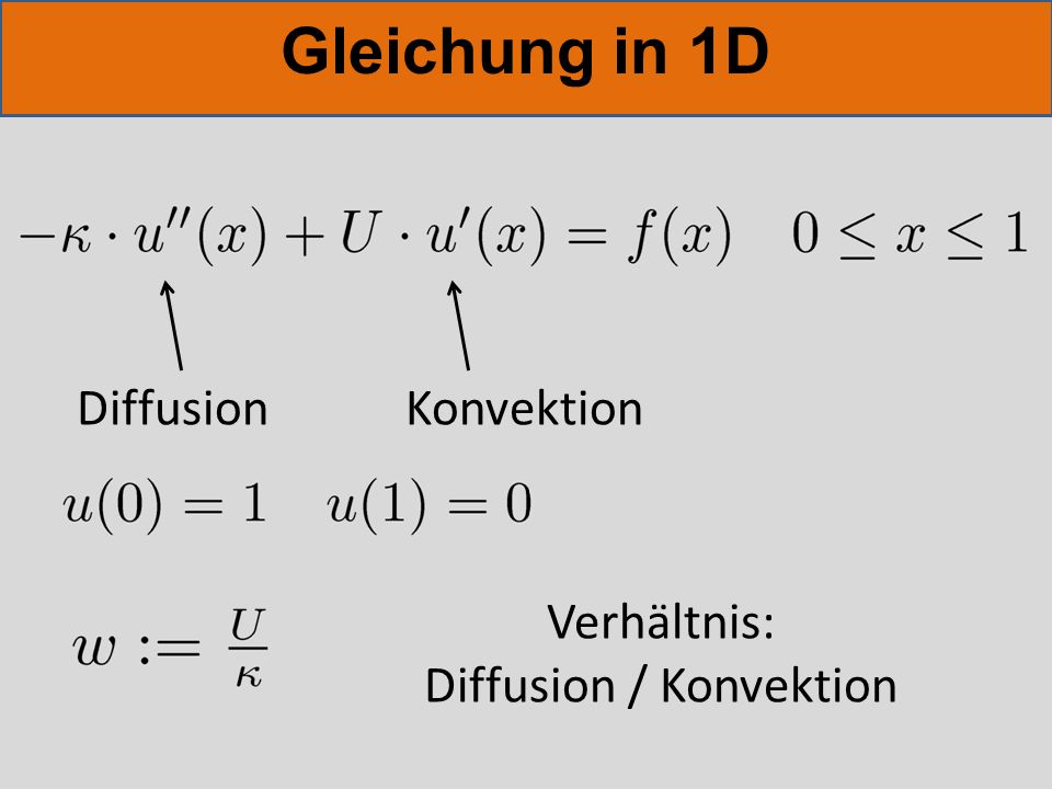 Diffusion / Konvektion