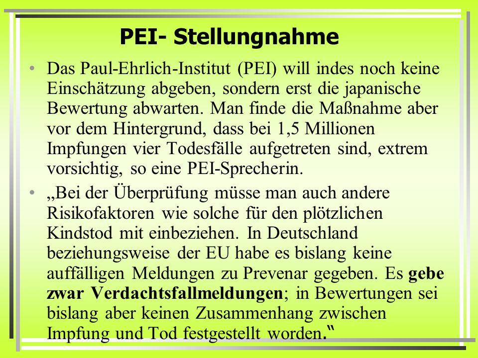 PEI- Stellungnahme