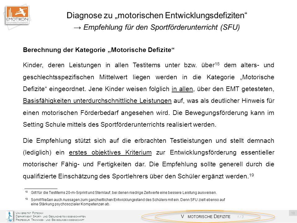 """Diagnose zu """"motorischen Entwicklungsdefiziten"""