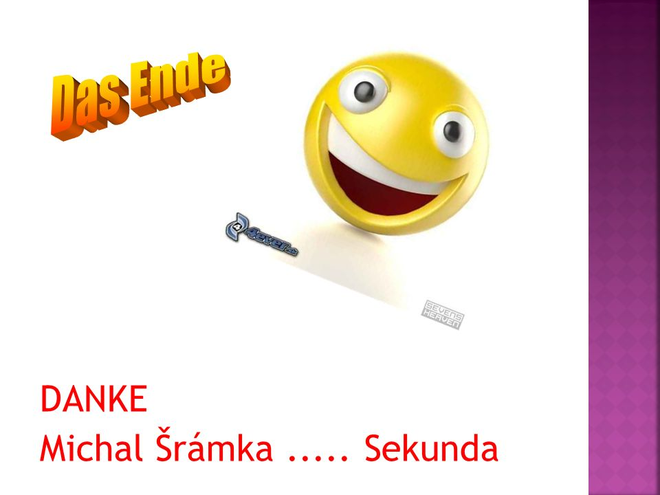DANKE Michal Šrámka ..... Sekunda