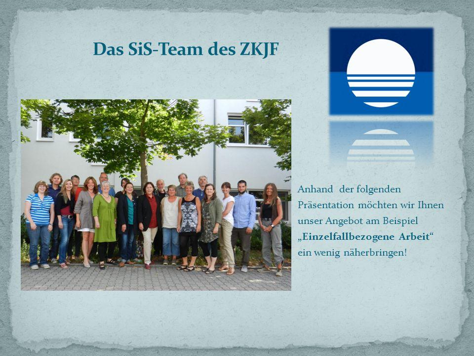 Das SiS-Team des ZKJF