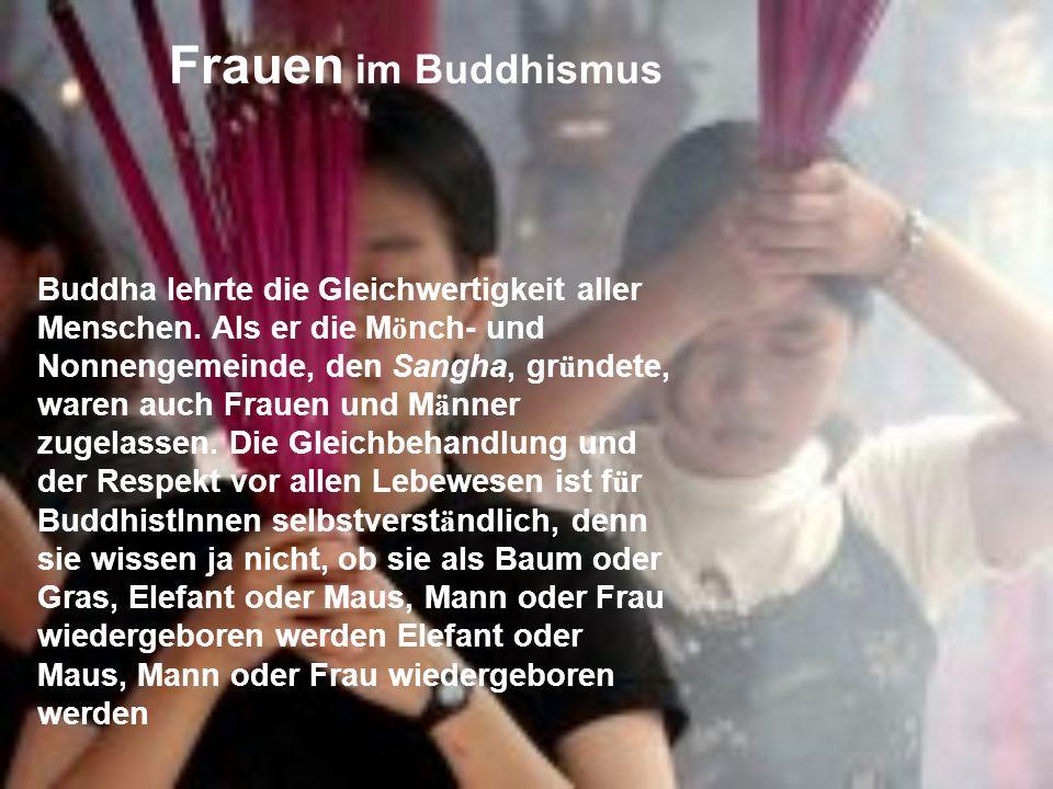 Frauen im Buddhismus