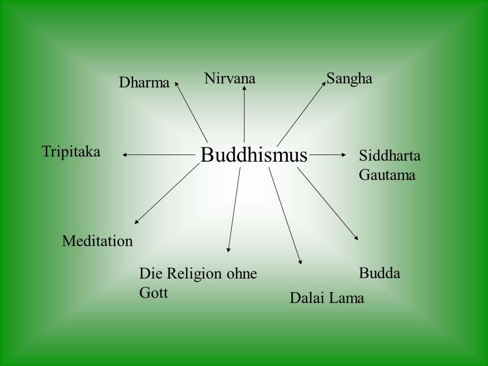 Buddhismus Nirvana Sangha Dharma Tripitaka Siddharta Gautama