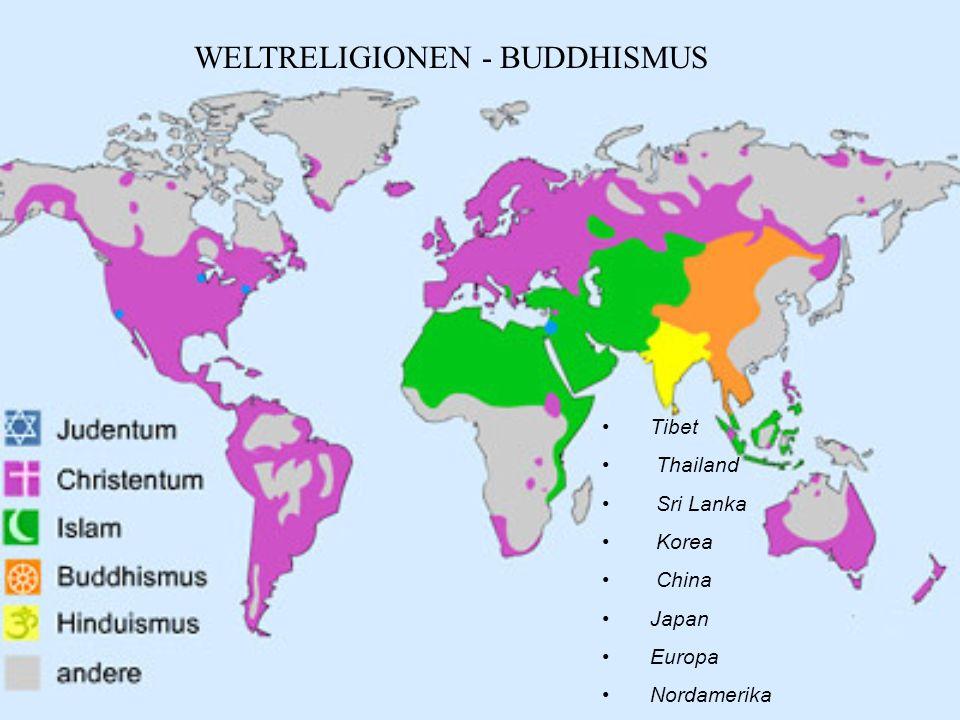 WELTRELIGIONEN - BUDDHISMUS