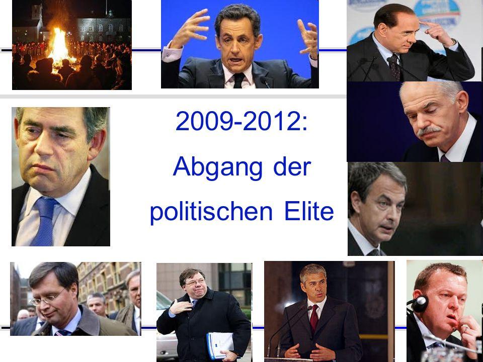 2009-2012: Abgang der politischen Elite