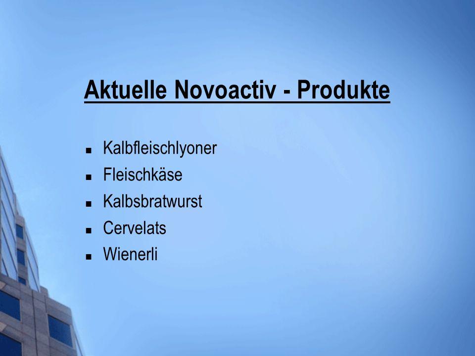Aktuelle Novoactiv - Produkte