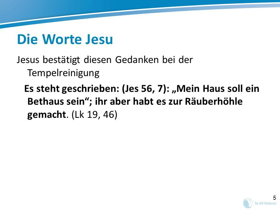 Die Worte Jesu