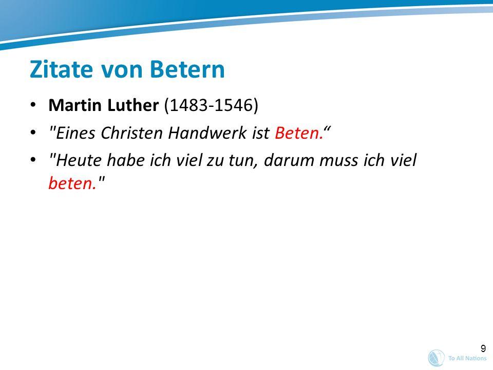 Zitate von Betern Martin Luther (1483-1546)