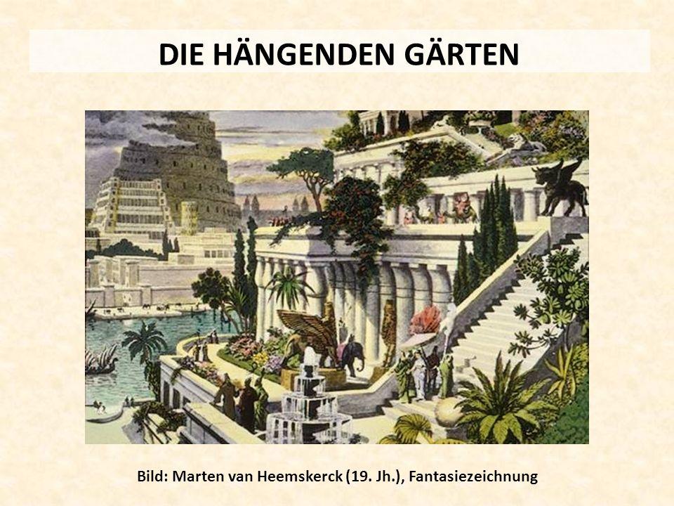 Bild: Marten van Heemskerck (19. Jh.), Fantasiezeichnung