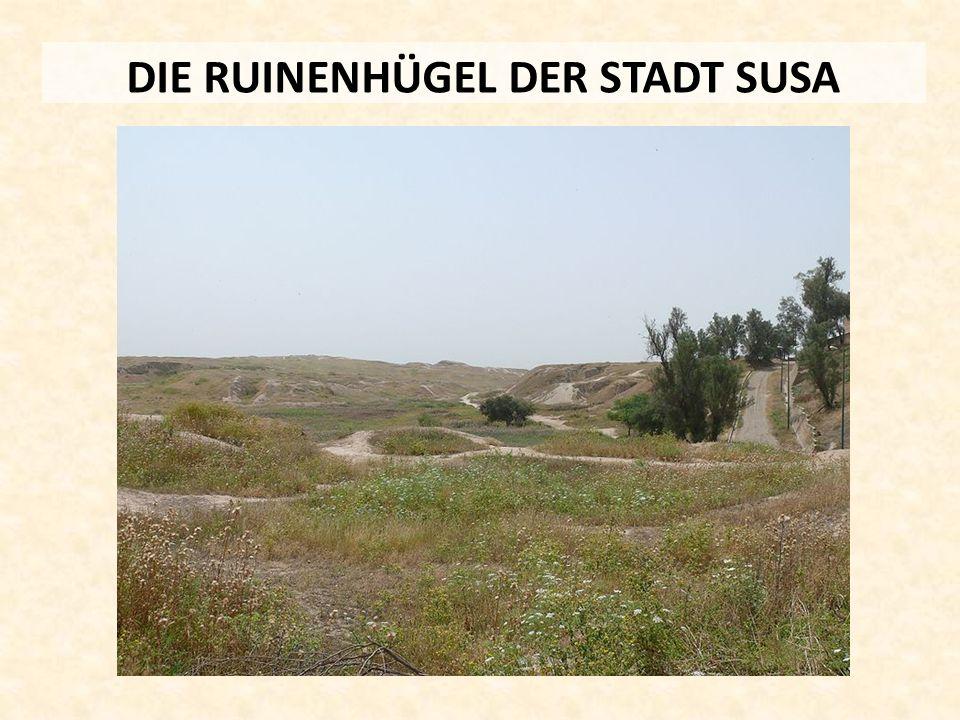 DIE RUINENHÜGEL DER STADT SUSA