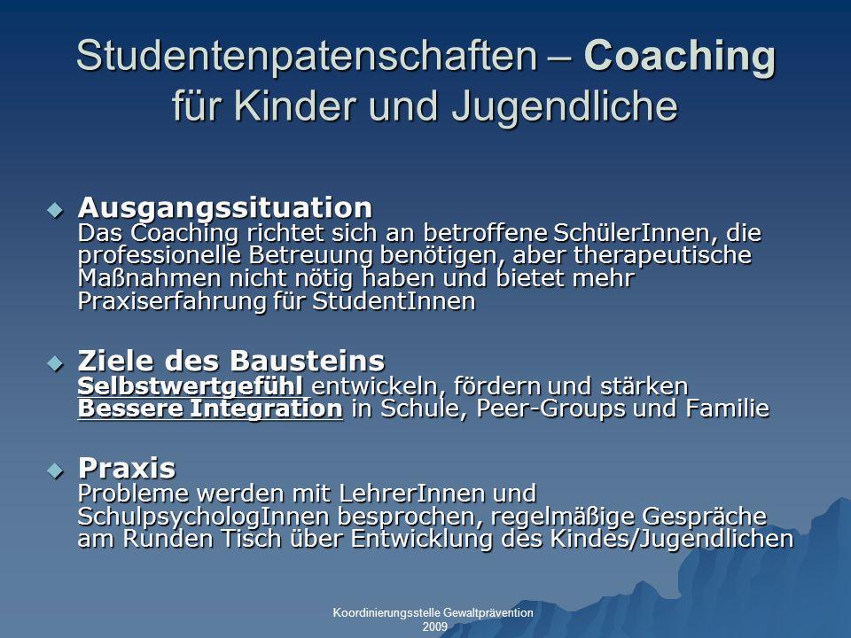 Studentenpatenschaften – Coaching für Kinder und Jugendliche