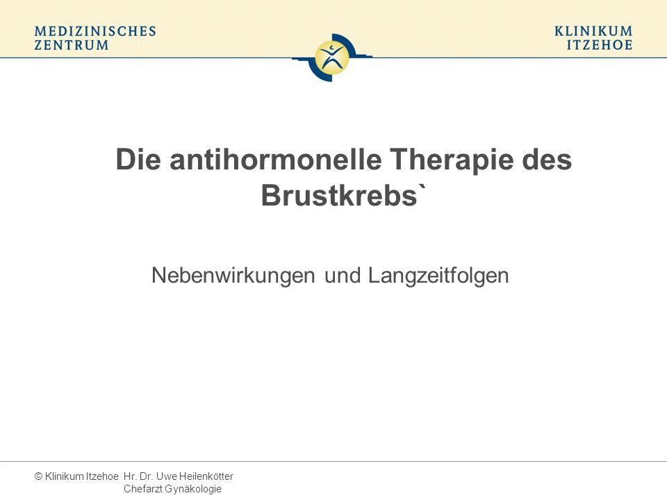 Die antihormonelle Therapie des Brustkrebs`