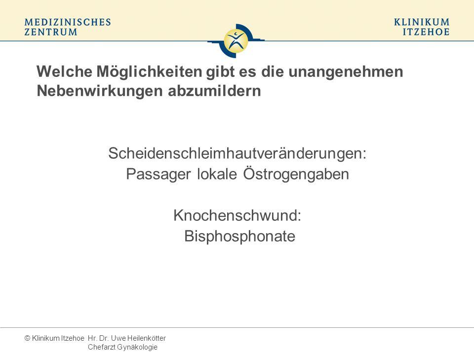 Scheidenschleimhautveränderungen: Passager lokale Östrogengaben