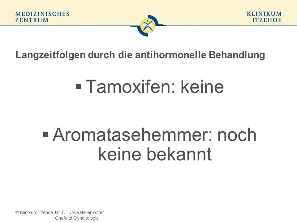 Langzeitfolgen durch die antihormonelle Behandlung