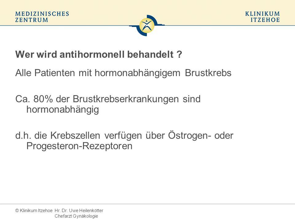 Wer wird antihormonell behandelt