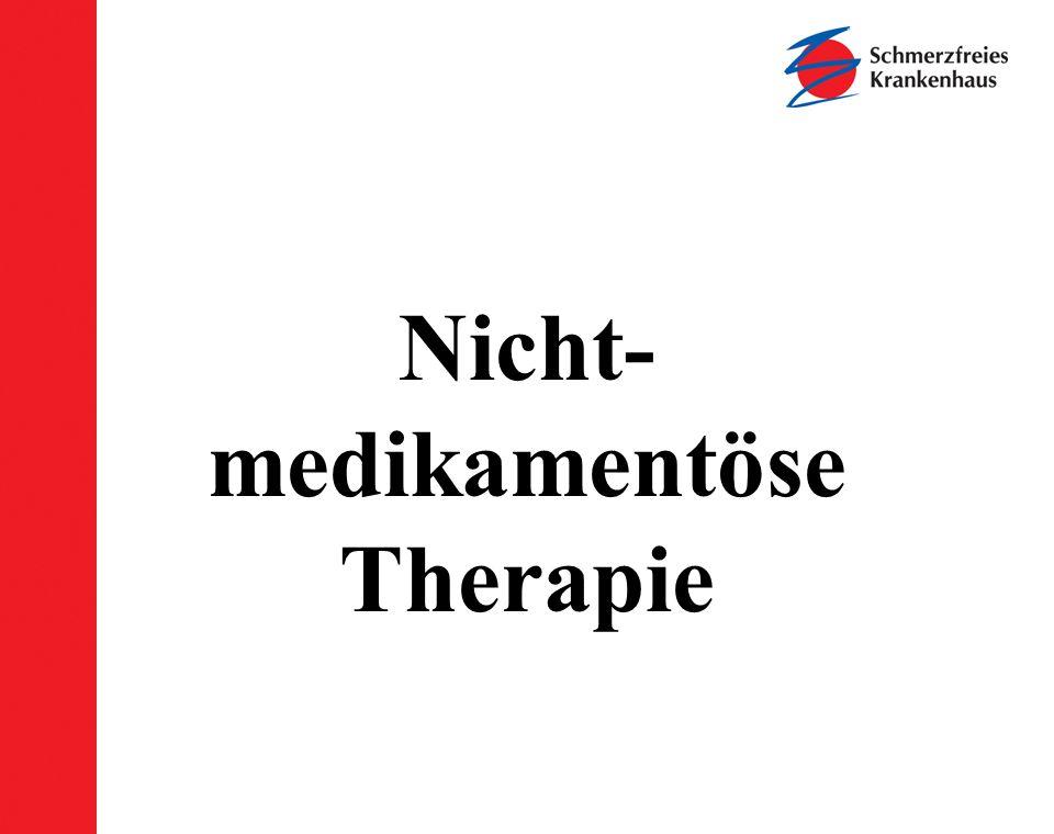 Nicht-medikamentöse Therapie
