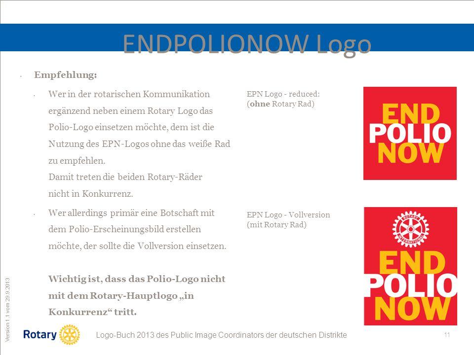 ENDPOLIONOW Logo Empfehlung: