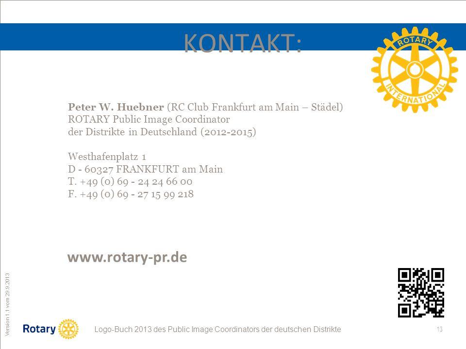 KONTAKT: www.rotary-pr.de