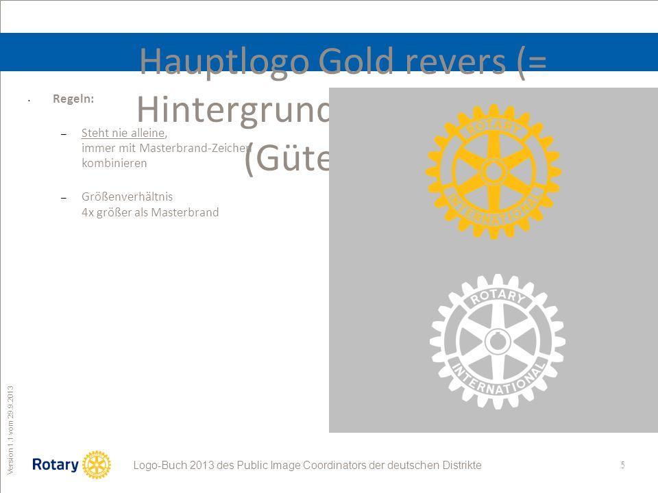 Hauptlogo Gold revers (= Hintergrund transparent) (Gütesiegel)