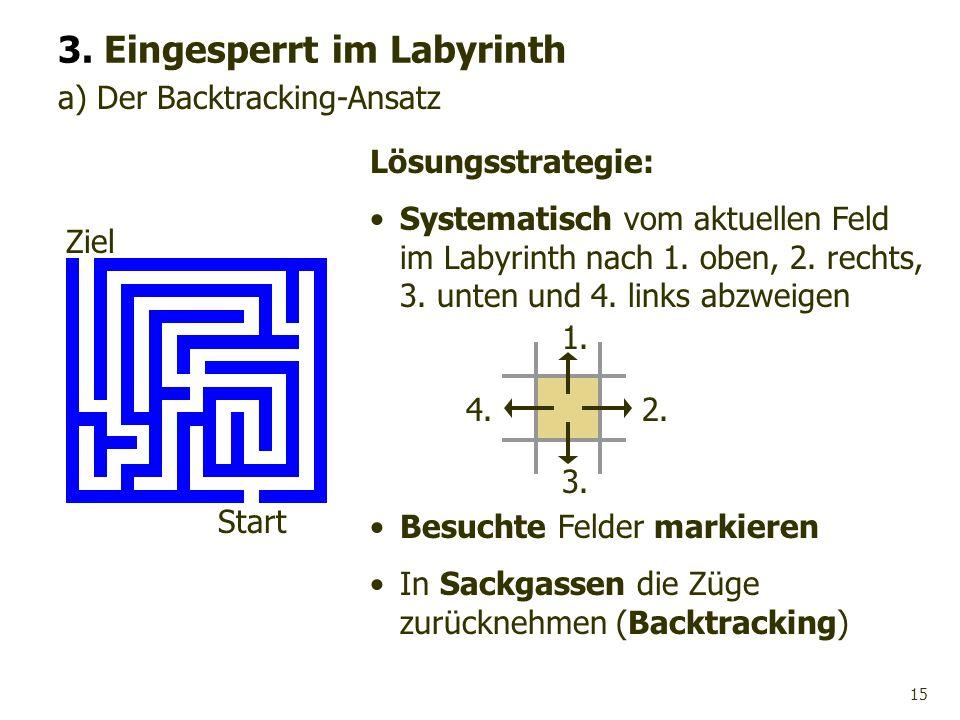 3. Eingesperrt im Labyrinth
