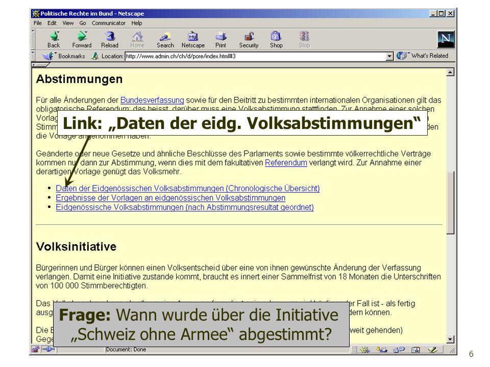 """Link: """"Daten der eidg. Volksabstimmungen"""