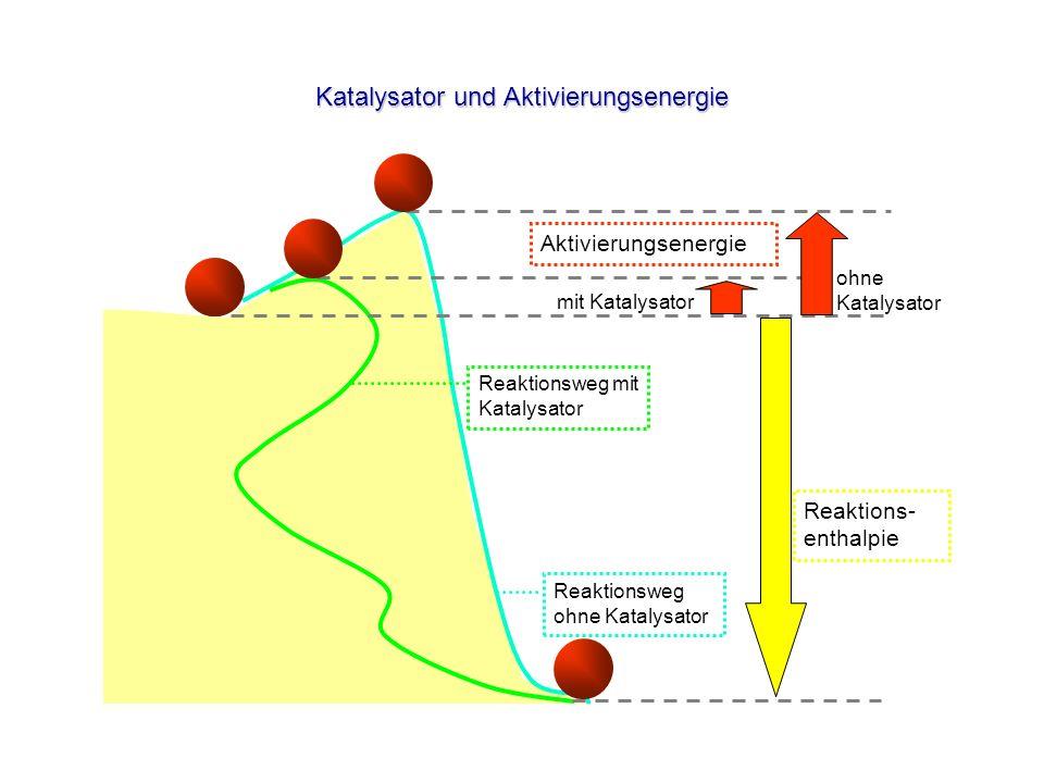 Katalysator und Aktivierungsenergie