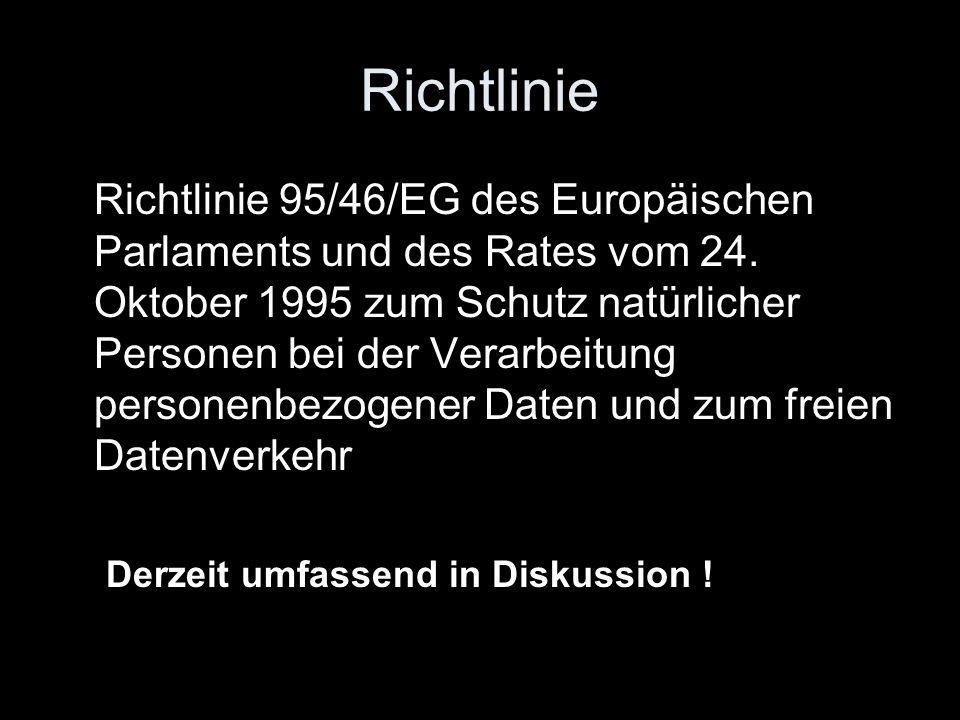 Richtlinie