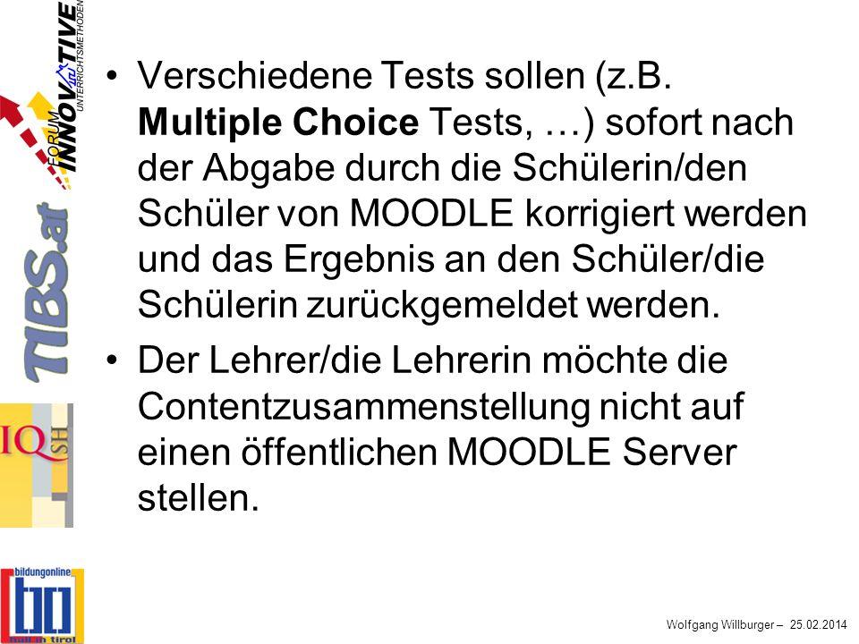 Verschiedene Tests sollen (z. B