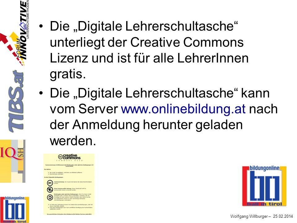 """Die """"Digitale Lehrerschultasche unterliegt der Creative Commons Lizenz und ist für alle LehrerInnen gratis."""
