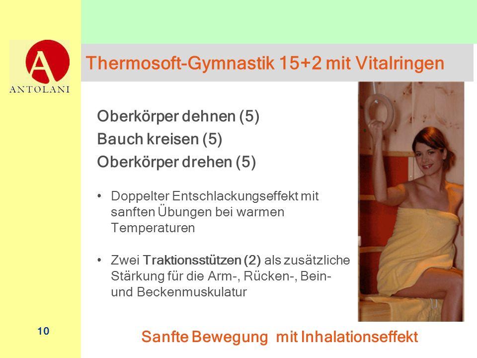 Thermosoft-Gymnastik 15+2 mit Vitalringen