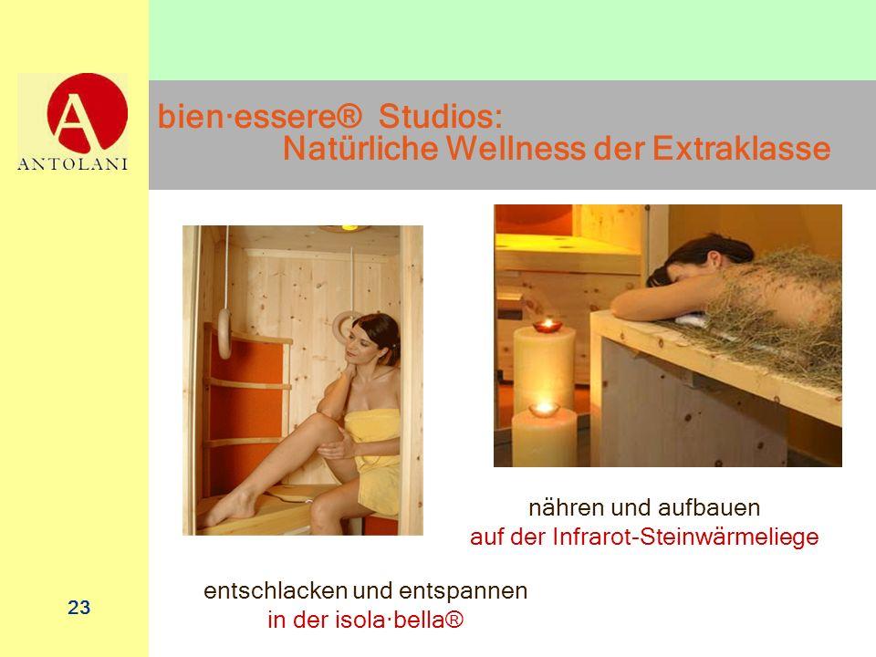 bien·essere® Studios: Natürliche Wellness der Extraklasse