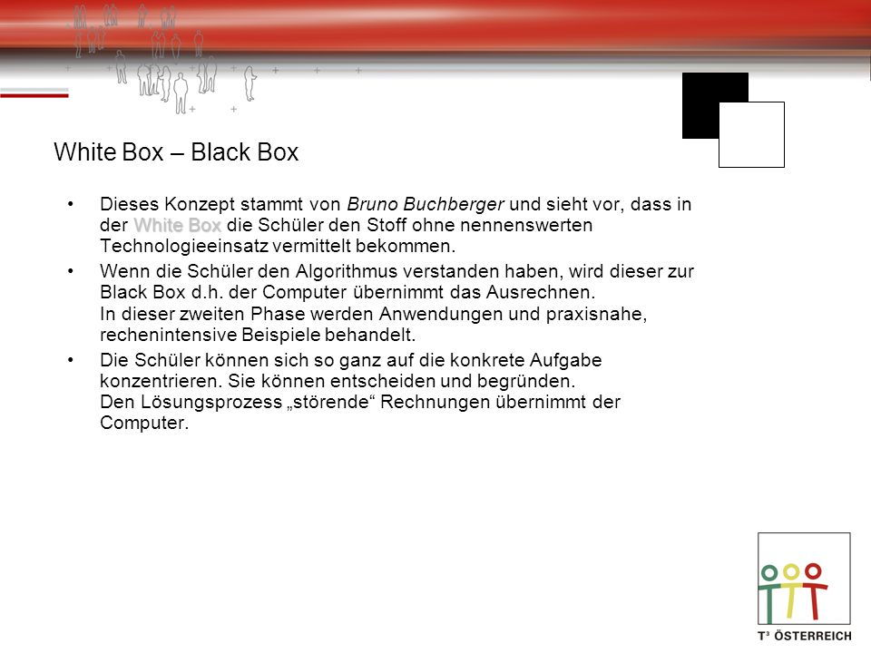 White Box – Black Box