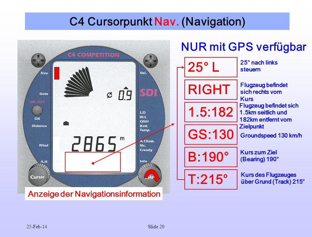C4 Cursorpunkt Nav. (Navigation)
