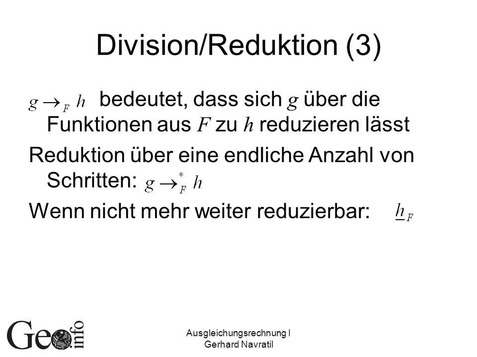 Division/Reduktion (3)