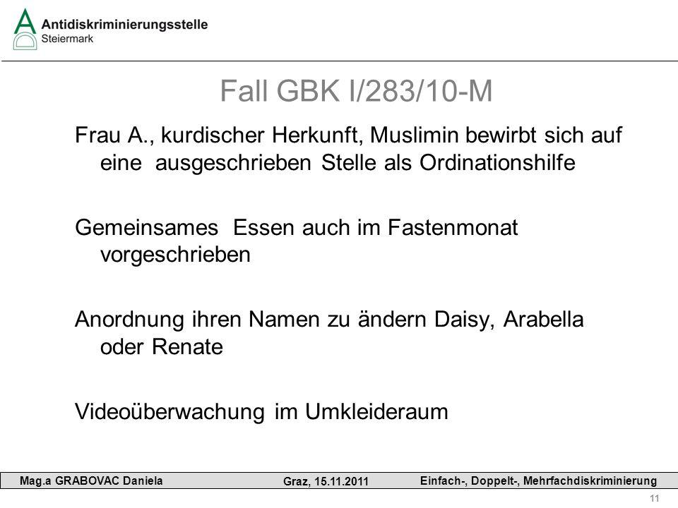 Fall GBK I/283/10-M