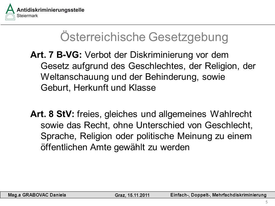 Österreichische Gesetzgebung