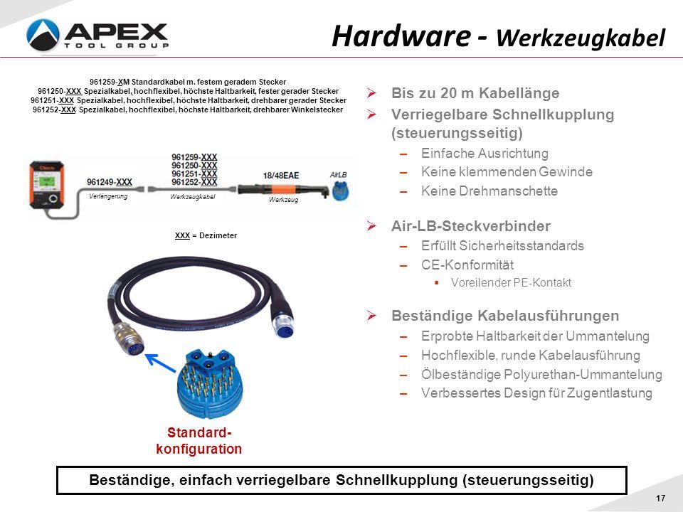 Hardware - Werkzeugkabel
