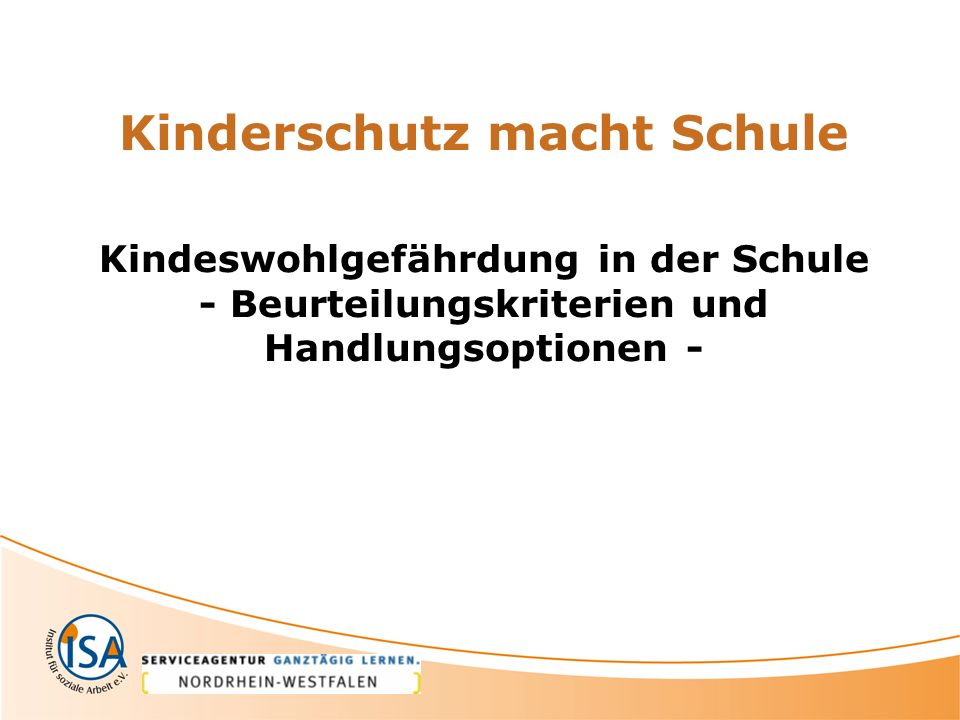 Kinderschutz macht Schule