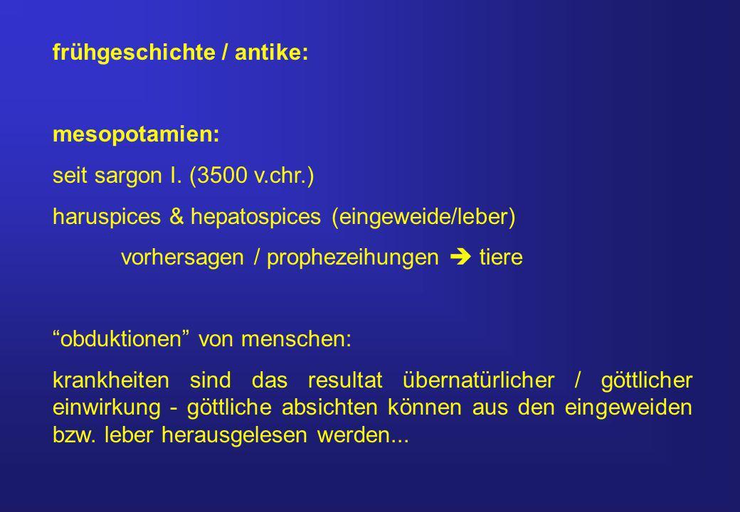 frühgeschichte / antike: