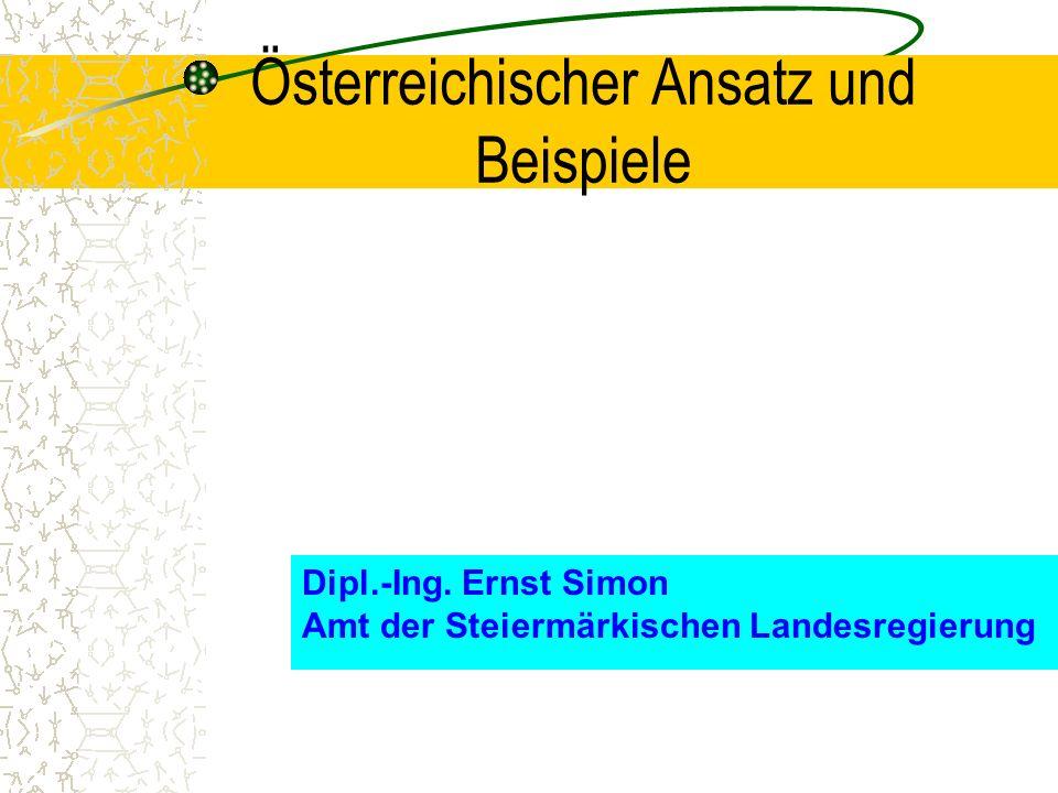 Österreichischer Ansatz und Beispiele