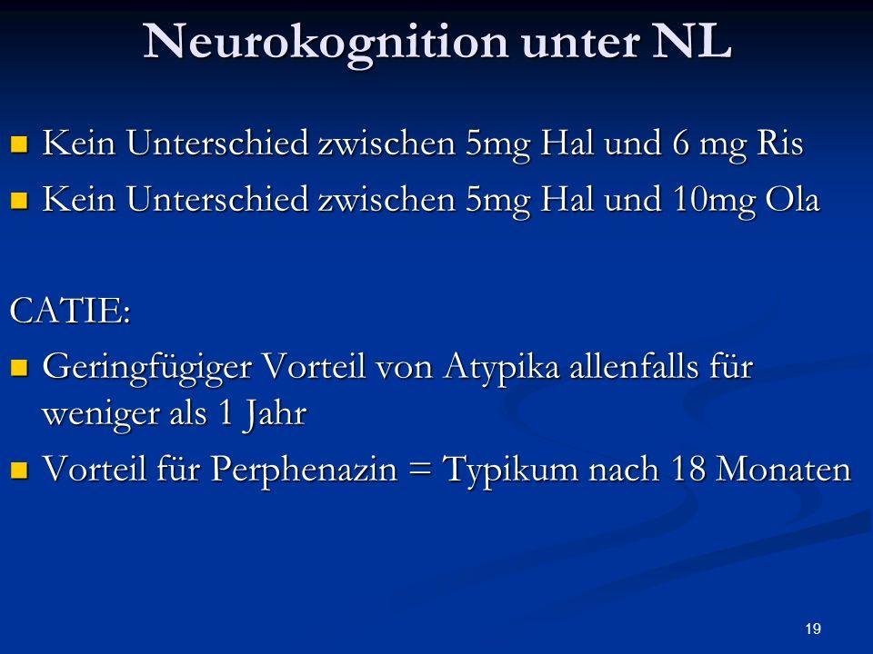 Neurokognition unter NL