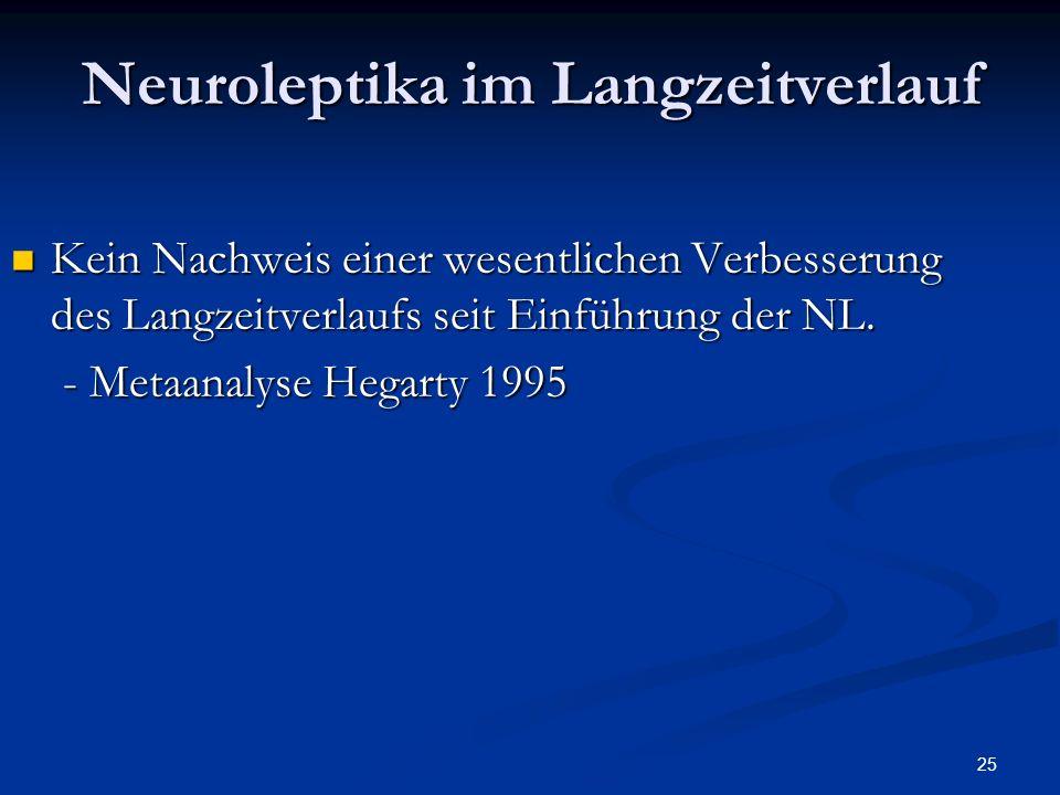 Neuroleptika im Langzeitverlauf