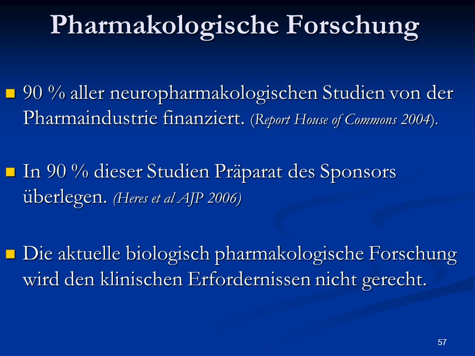 Pharmakologische Forschung