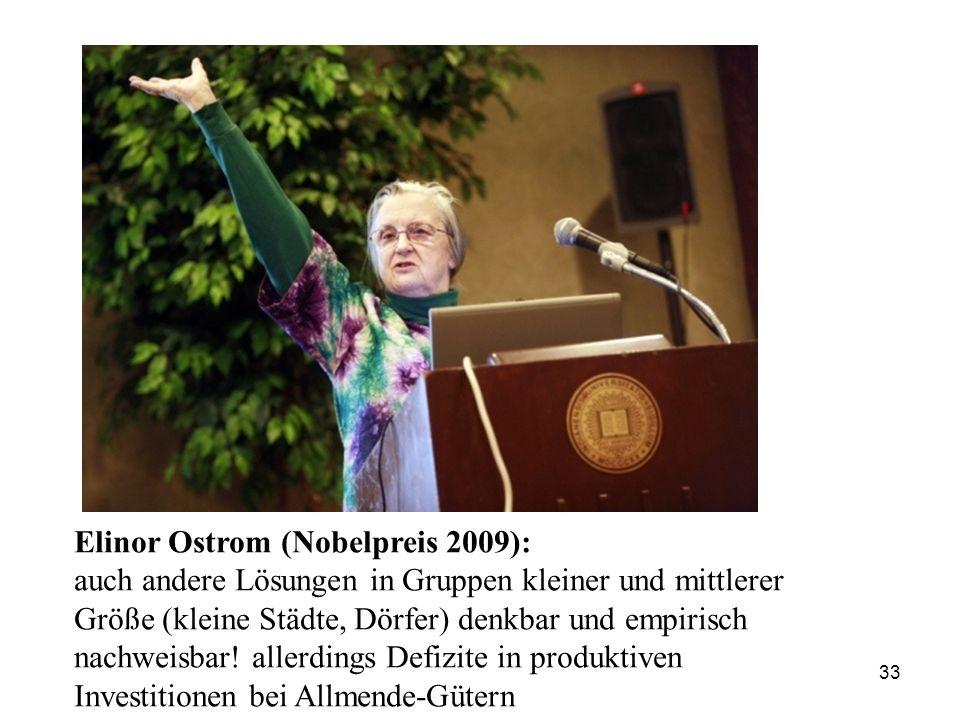 Elinor Ostrom (Nobelpreis 2009):