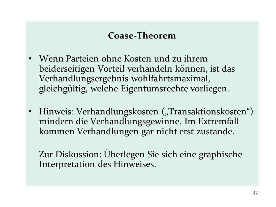 Coase-Theorem