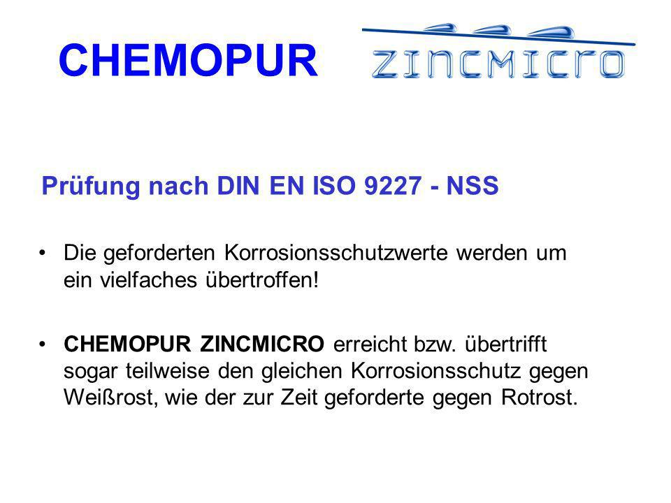Prüfung nach DIN EN ISO 9227 - NSS