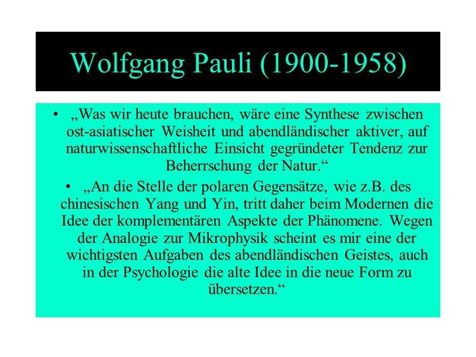 Wolfgang Pauli (1900-1958)
