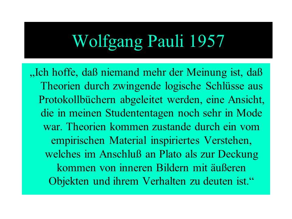 Wolfgang Pauli 1957
