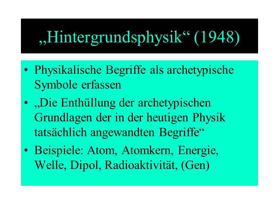 """Hintergrundsphysik (1948)"